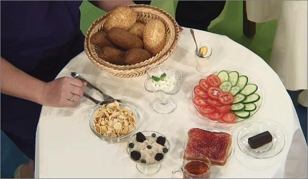 Завтрак и нормы питания