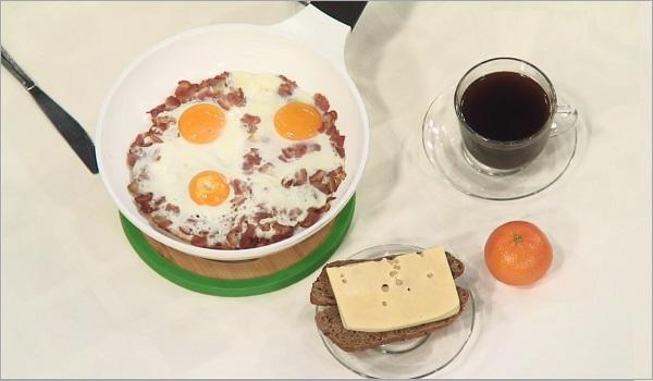 завтрак для работников физического труда